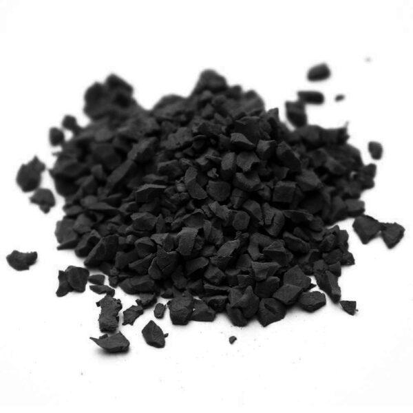 чёрная резиновая крошка крошка