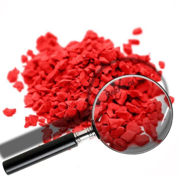 крошка эпдм цвет RAL-3020-Транспортный-красный