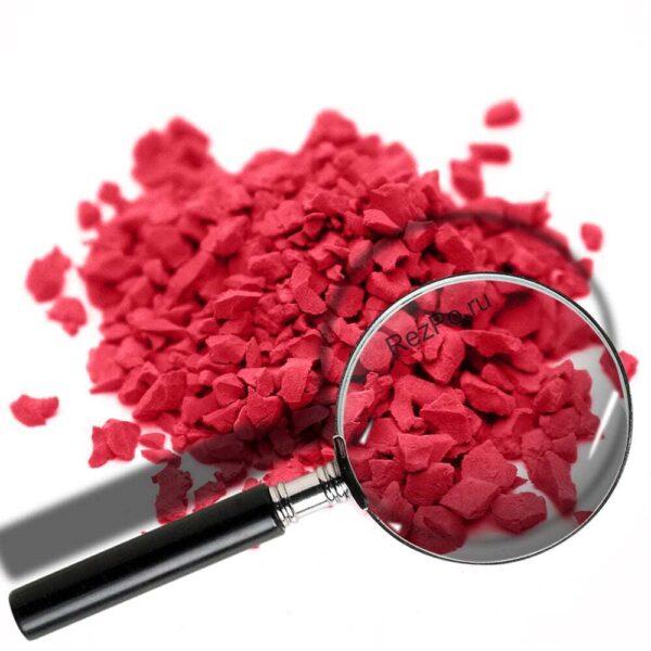 крошка эпдм цвет RAL-3028-Красный