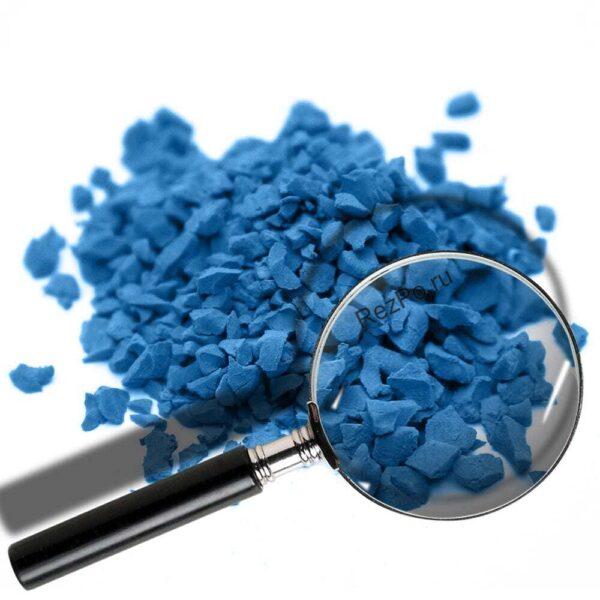 крошка эпдм цвет RAL-5012-Голубой