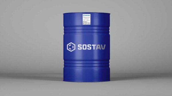 клей в бочке для бесшовного резинового покрытия SOSTAV Adhesive-Cover